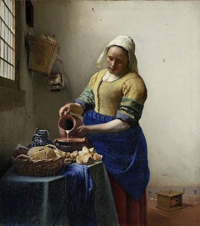 """Vermeer's """"Milkmaid"""""""